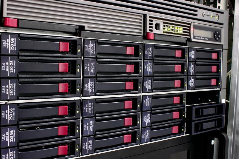 Server som kör linux